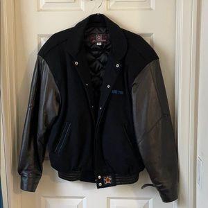 Heavy Varsity Bomber Jacket